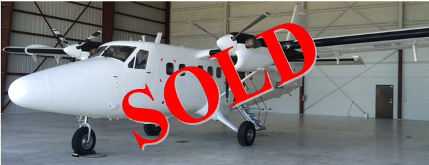 Twin otter sold